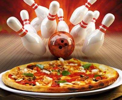 Join us for Pizza and Bowling on Sunday Nights